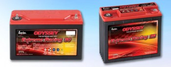 Hawker Odyssey Extreme Racing Batterien