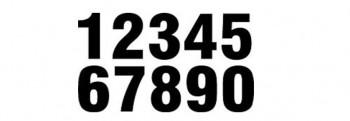 Startnummern & Aufkleber