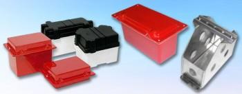 Batterieboxen und Batteriehalter