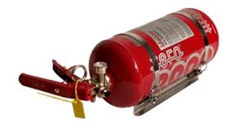 Lifeline Zero2000 Feuerlöschanlage 4 ltr.  Mechanische Auslösung, Stahlbehälter FIA
