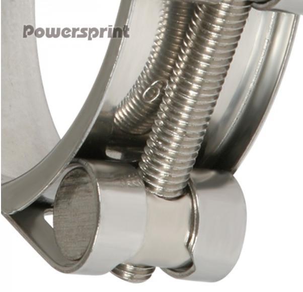 Powersprint Edelstahl Spezial-Bandschelle  44mm-47mm Ø