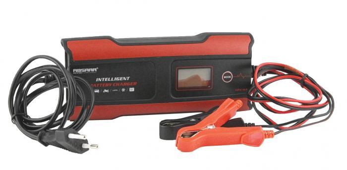 Absaar Batterieladegerät EVO 4.0 Lithium, 6/12 Volt, 4Ampere  Lithium Battery Smart Charger