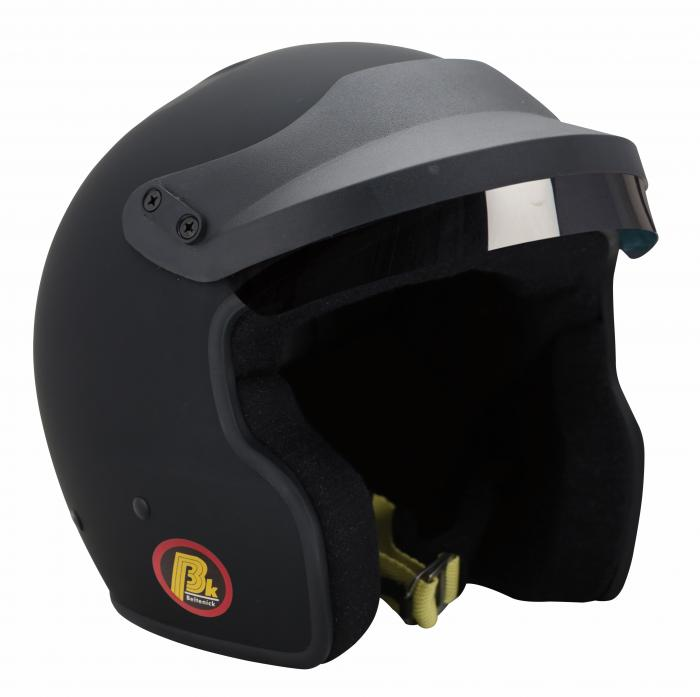 Beltenick® OF Racing mit M6 Terminals schwarz  Homologation FIA 8859-2015 Jet Helm