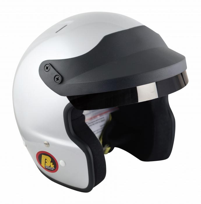 Beltenick® OF Racing mit M6 Terminals silber Homologation FIA 8859-2015 Jet Helm
