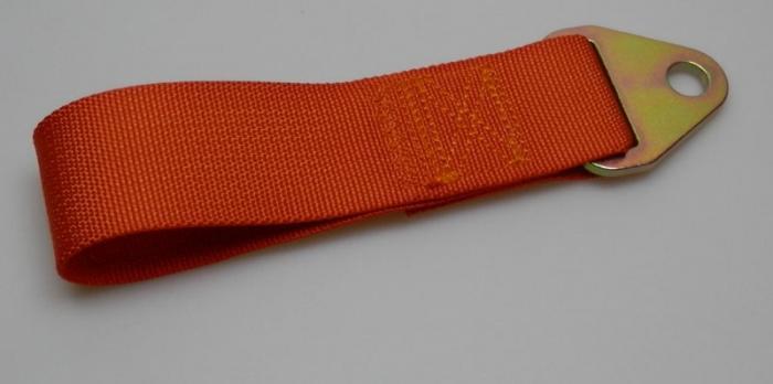 Abschleppschlaufe 200mm - FIA   - rot - gelb - orange -