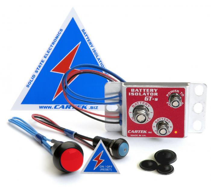 Cartek Battery Isolator Set GT  400-600A, 2000A kurzfristig