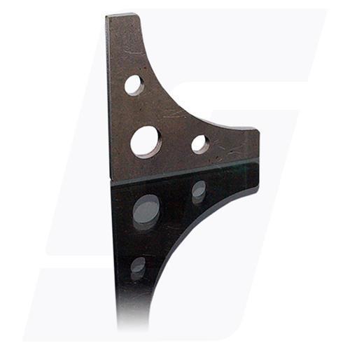Schweisslasche Nr.10   50x50x3mm  - Domex700