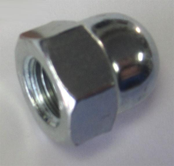 Hutmutter M12x1,5 mm, Stahl, verzinkt