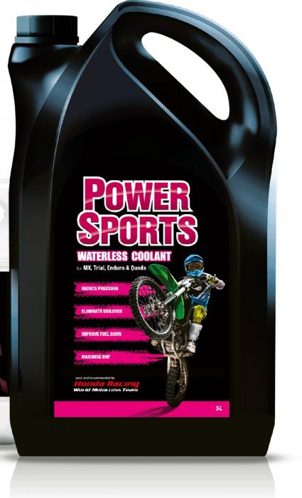 Evans Power Sports  5 ltr.