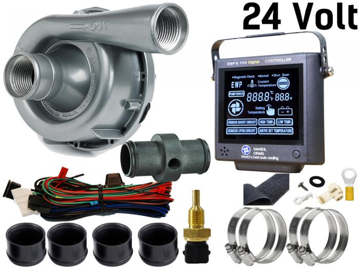 Set aus EWP150 Aluminium 24V und Kontrollpanel (neue Version) Davies Craig