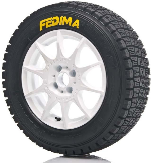 Fedima Rallye F4 Competition  185/70R14 88T S0 supersoft - Produktion 2013!