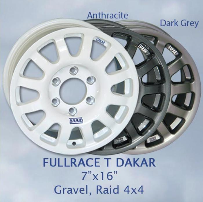Fullrace T Dakar 4x4 7Jx16  nach Kundenspezifikation