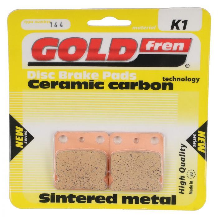 Bremsbeläge Gold fren Wilwood GP200 Typ 144 (2-Kolben) Material K1