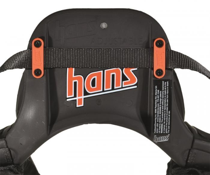 HANS System Verstellbar Sitzwinkel 10° - 40° Gr.L/M  Homologation FIA 8858-2010