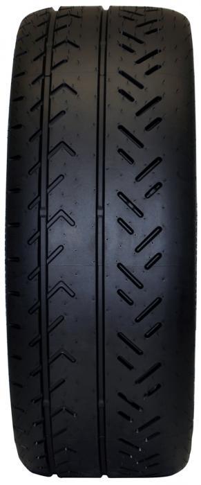 Hoosier Rallye Asymetrisch Asphalt  195/50R17 DM E Kennzeichnung