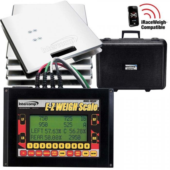 Intercomp Radlastwaage SW500 -EZ   700kg / Platte