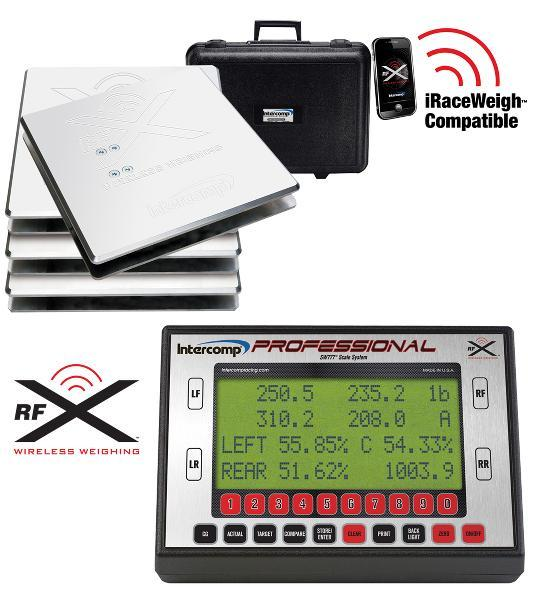 Intercomp rofessional Kartscale SW777RFX    200kg / Platte