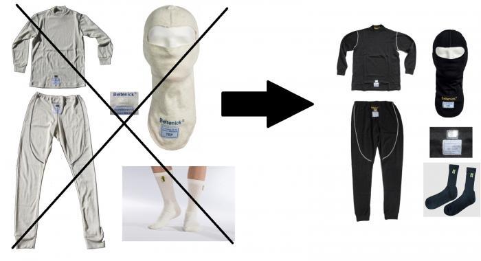 Aufpreis für schwarze Unterwäsche  statt weißer Unterwäsche