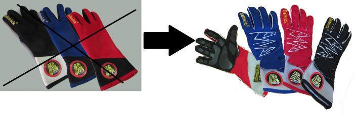 Aufpreis für Handschuhe  Beltenick Lightning statt Beltenick Rally Handschuh