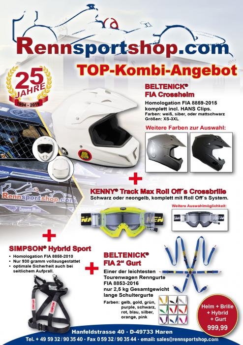 FIA Offroad Komplettangebot Beltenick® Kombi Angebot Simpson Hybrid