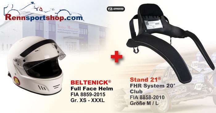 Hans Komplettangebot Full Face Beltenick® Kombi Angebot FHR System