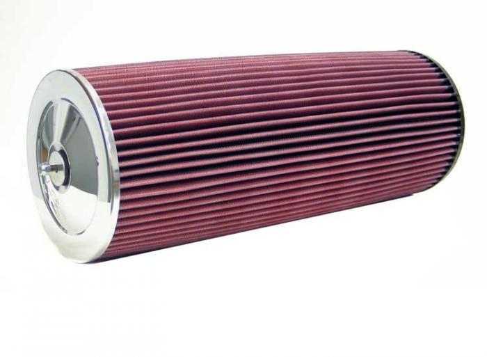 K&N Universalluftfilter, 102mm Flansch  Rund Zylindrisch, 178x178 457lg