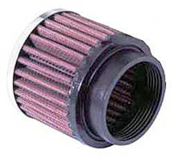 K&N Universalluftfilter, 52mm Flansch Rund Zylindrisch, 76x76 63lg