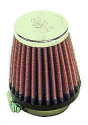 K&N Universalluftfilter, 40mm Flansch Konische Rundform, 67x51 76lg