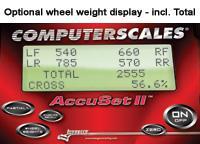 Longacre Radlastwaage AccuSet I  2265 kg / Platte Heavy Duty I