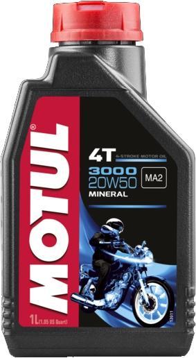 Motorenöl Motul 3000 4T  20W50 (Dose 1 liter)