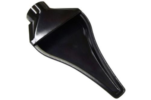 NACA Air Duct Lufteinlass  Kunststoff schwarz 63mm