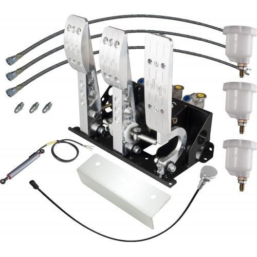 Pro Race Pedalbox für hydraulische Kupplung  mit Zylindern