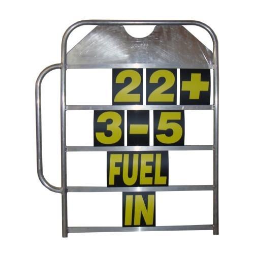 Boxentafel Profi mit Handgriff  mit Zahlen und Buchstaben