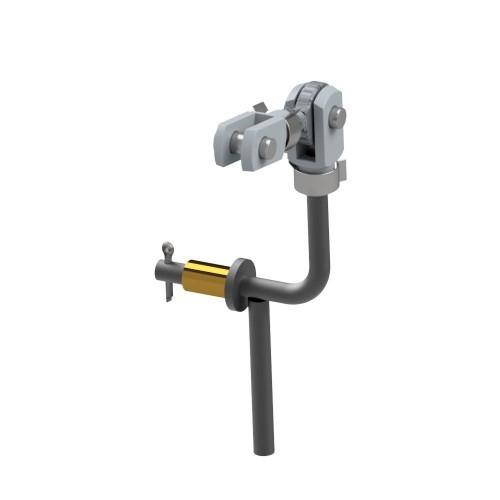 Kable Gaszug Verbindung Pro EV  für OBP-PR-EV02 - stehend bulkhead fitt