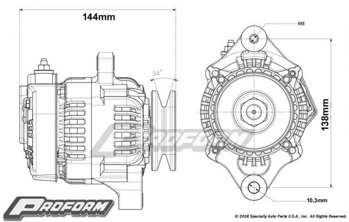 Proform Racing Generator 50A