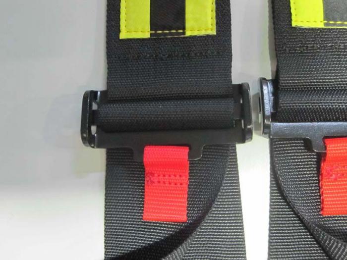 Beltenick® 5-Punkt Gurt NASCAR schwarz  Farbe: schwarz