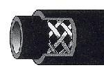 """Aeroquip Gummischlauch 2000  Dash 08 (1/2"""")"""