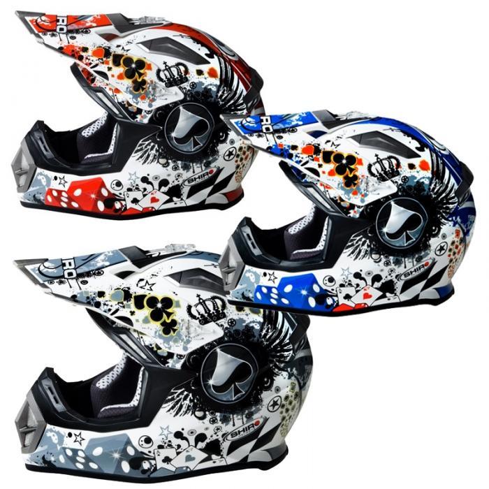 Cross Helm Shiro MX-911  ECE 22-05 ab 1000 gramm