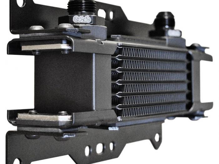 Ölkühlerhalter  für Setrab STD Ölkühler
