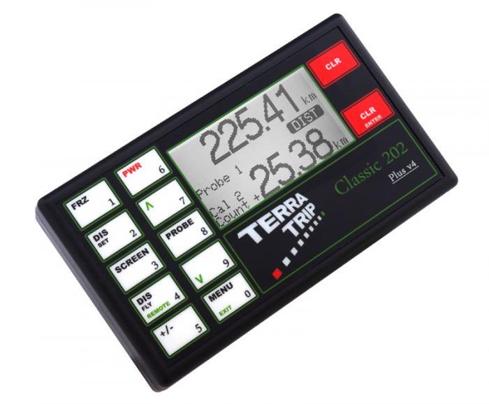 Terratrip 202 Classic Plus V4 - GPS GeoTrip  Elektronischer Wegstreckenzähler