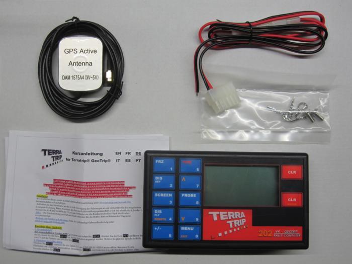 Terratrip 202 GeoTrip mit GPS  Elektronischer Wegstreckenzähler