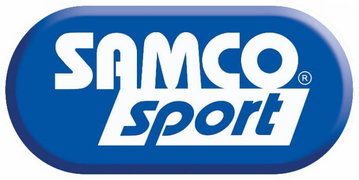 Samco Ford Sierra Cosworth 4WD 90-92  3-teiliges Ladeluftsystem blau
