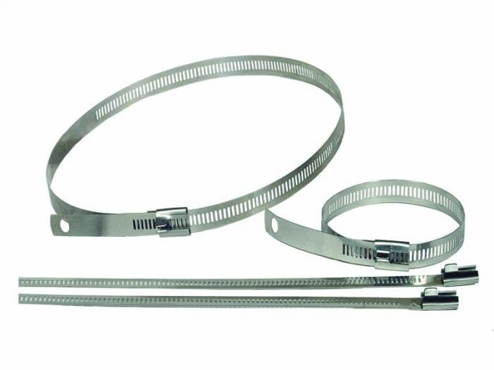 Cool It Thermo Tec  Schlauchschellen Set (6- Stück)  18 inch Länge (bis 140mm Durchmesser)