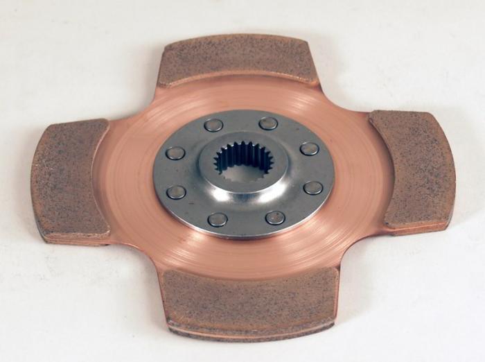 Tilton 4-pad Cerametal Mitnehmehmerscheibe  184mm Verzahnung 1x23 (23,3x26,3-23N)