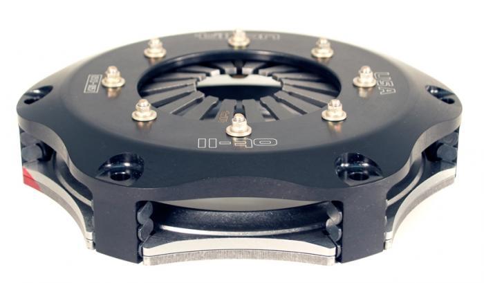 """Tilton Kupplungsautomat  7,25"""" 184mm  2-Scheiben Sinterpad bis 775Nm"""