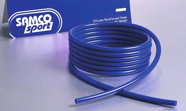 Samco Unterdruckschlauch 6,3mm innen   3m lang, 2,5mm Wandung blau