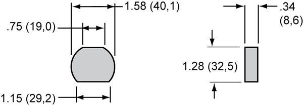 Wilwood Bremsbelag für Handbremszylinder