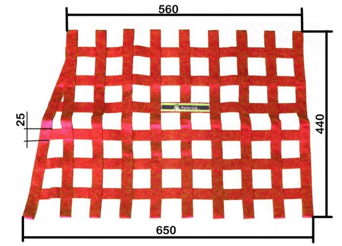 Beltenick® Fensternetz WN11  65cm x 44cm, mit Winkel Türfangnetz