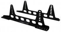 Beltenick® Alu-Konsole Seitenbefestigung   schwarz superlight