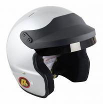 Beltenick® OF Racing mit M6 Terminals silber Homologation FIA 8859-2015 Jet Helm